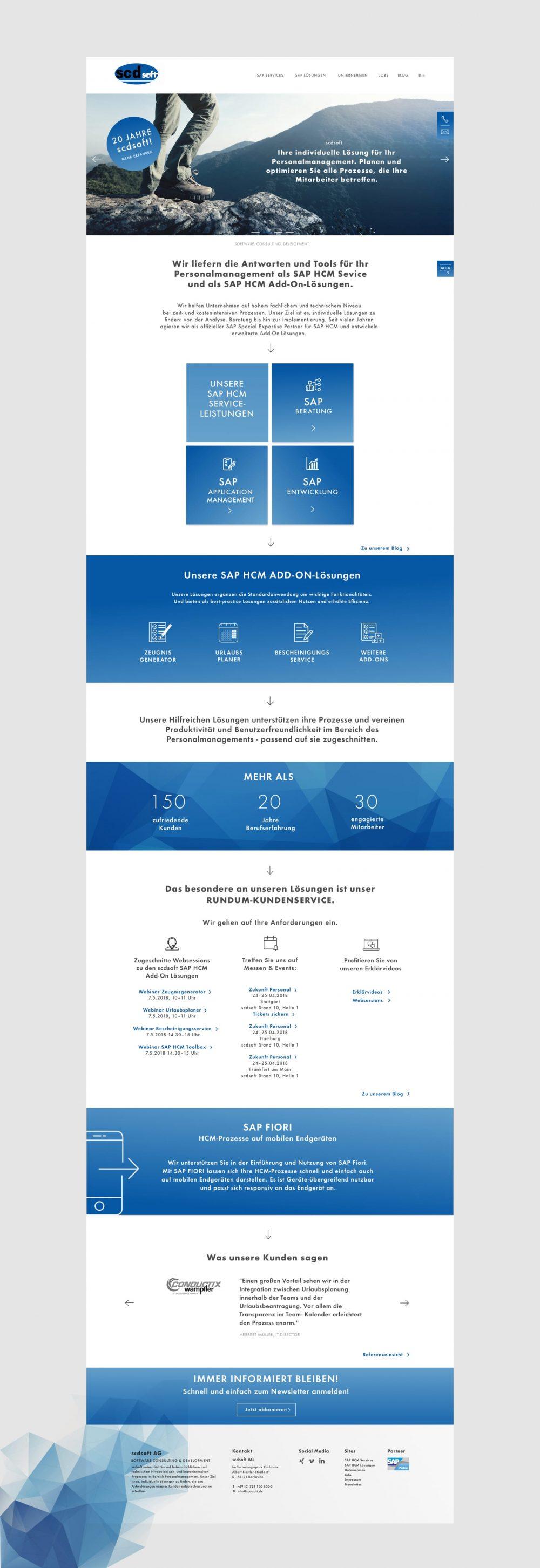grundmanngestaltung Website- und UX Design scdsoft AG